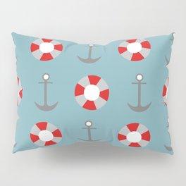 Sailing Pattern Pillow Sham