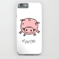 el porcino iPhone 6s Slim Case