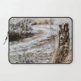 Winter road Laptop Sleeve