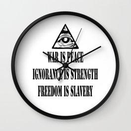 1984 Big Brother Wall Clock