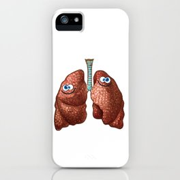 Happy Lungs iPhone Case