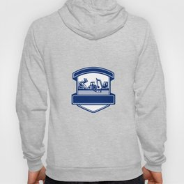Mulching Bush Hogging Excavation Services Badge Hoody