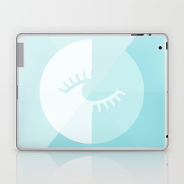 LOOK AT ME BLUE Laptop & iPad Skin