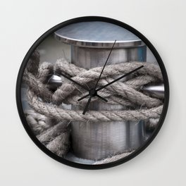 Tied & Secured  Wall Clock