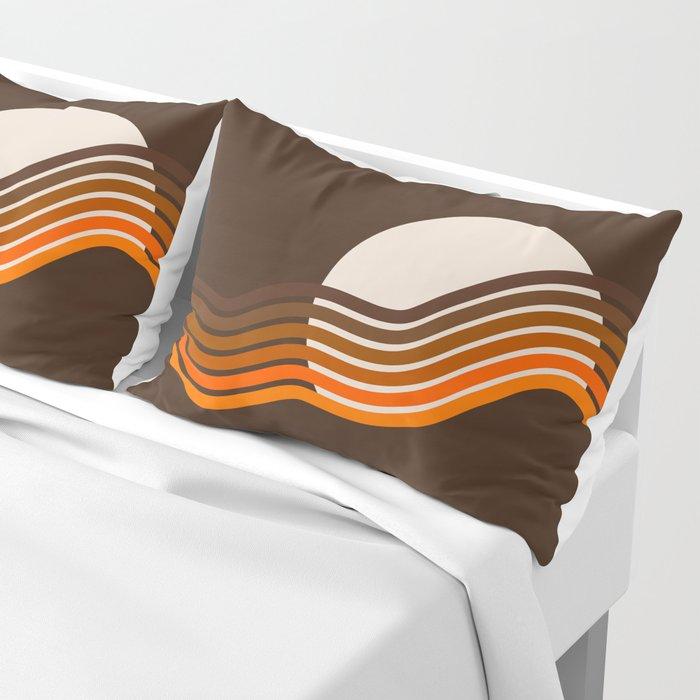 Sundown Stripes Pillow Sham