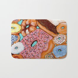 Donut Test Me Bath Mat