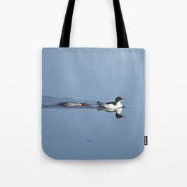 Mergansers on the Kenai Tote Bag