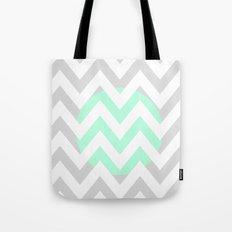 CIRCLE CHEVRON Tote Bag