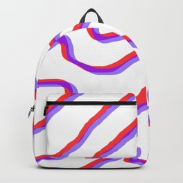 topo in red & blue Backpack