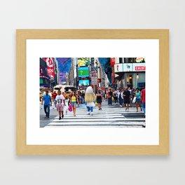 Smurphly Framed Art Print