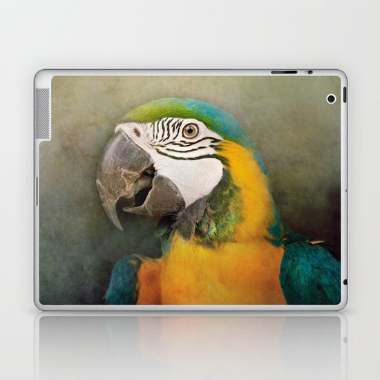 Portrait of a Parrot Laptop & iPad Skin