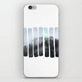 Hidden forest iPhone Skin