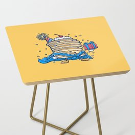 Captain Birthday Pancake Side Table