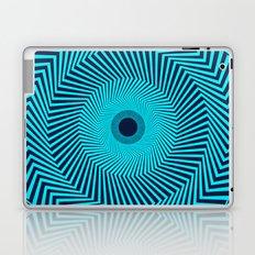 Circular Optical Illusion Laptop & iPad Skin
