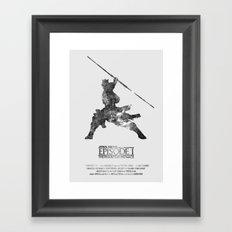 Star Wars - The Phantom Menace Framed Art Print