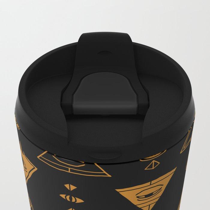 Seeing (Dark) Metal Travel Mug