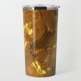 Luxury Gold Relief  Travel Mug