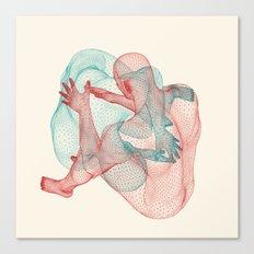 Circulation Canvas Print