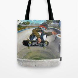 Pool Calavera Tote Bag