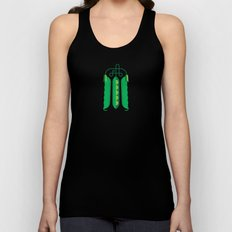 Vegetable: Snap pea Unisex Tank Top