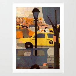 CROWN HEIGHTS 1 Art Print