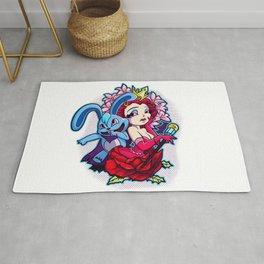 Wonderland: The Rabbit & The Queen Rug