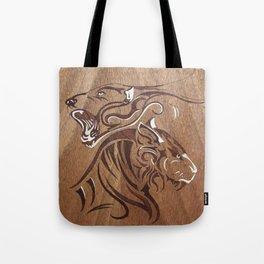 Fantasy Tiger art Tote Bag