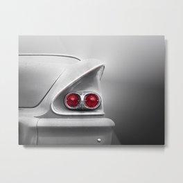 US American classic car 1958 Bel Air Metal Print