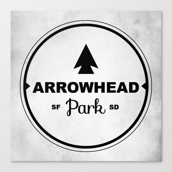 Arrowhead Park Canvas Print