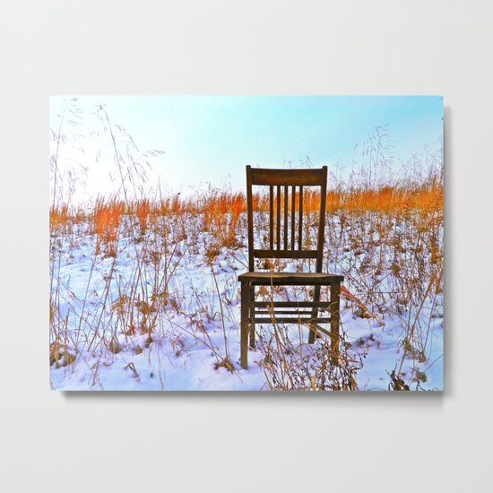 Winter Can Be Lonely Metal Print