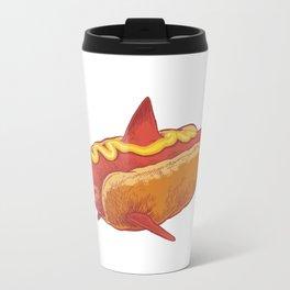 Mustard shark Travel Mug