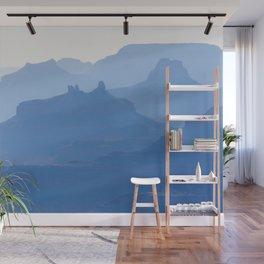Grand Canyon blue ridges Wall Mural