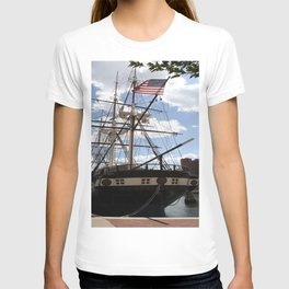 Old Glory - USS Constellation T-shirt