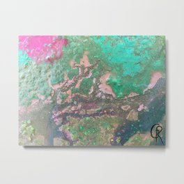 Rainbow Bay Metal Print