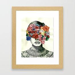 Twig & Flora Framed Art Print