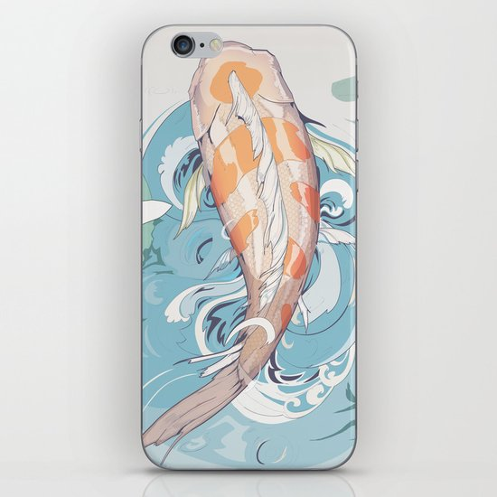 Koi Passing Through iPhone & iPod Skin