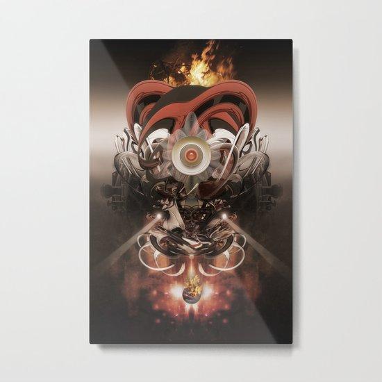 Pyropriest Metal Print