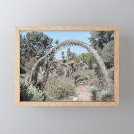 Joshua Tree Arch Framed Mini Art Print