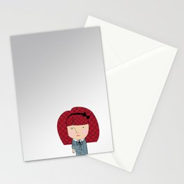 Mss. bullheaded Stationery Cards