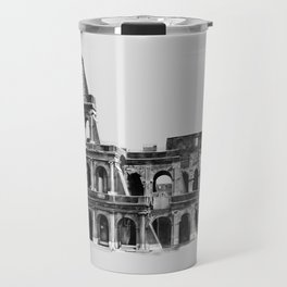 Colosseum Drawing Travel Mug