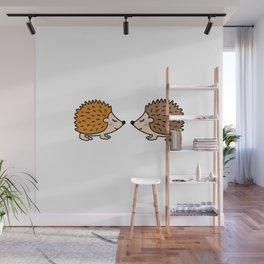 Cute hedgehog Wall Mural