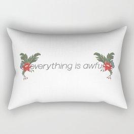 Everything is Awful. Rectangular Pillow