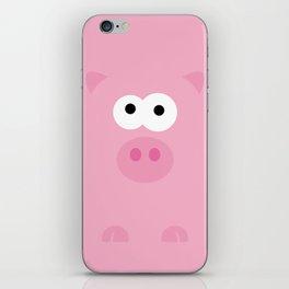 Minimal Pig iPhone Skin