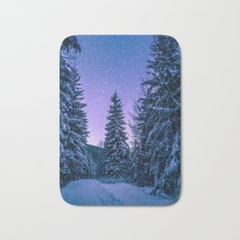 Chilly Conifers Bath Mat