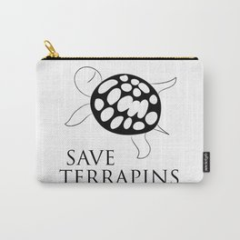 Save Terrapins Carry-All Pouch