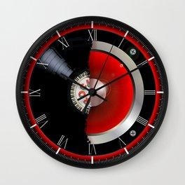 Record Speaker Wall Clock