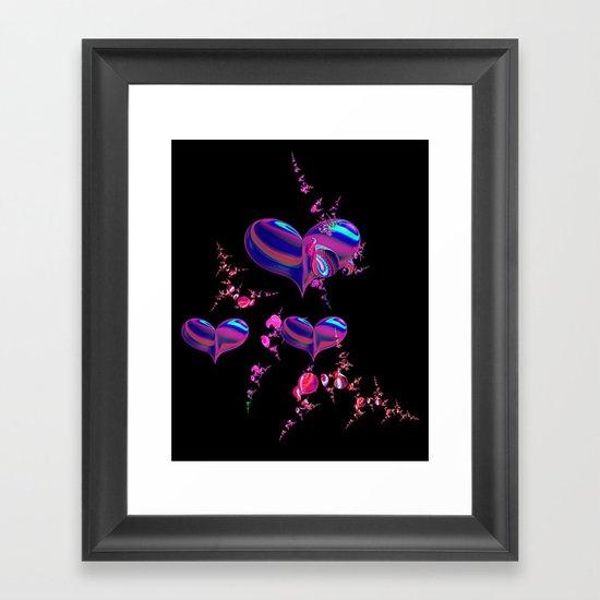 Love Shack Framed Art Print