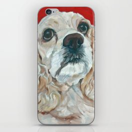 Lola the Cocker Spaniel iPhone Skin