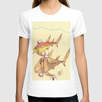 nurse T-shirts featuring Nurse Sharks by Ryan van Gogh