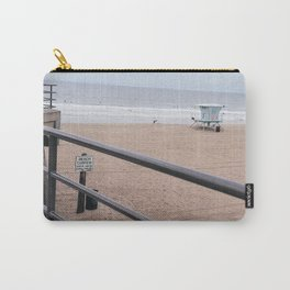 The Rails of Sand Carry-All Pouch